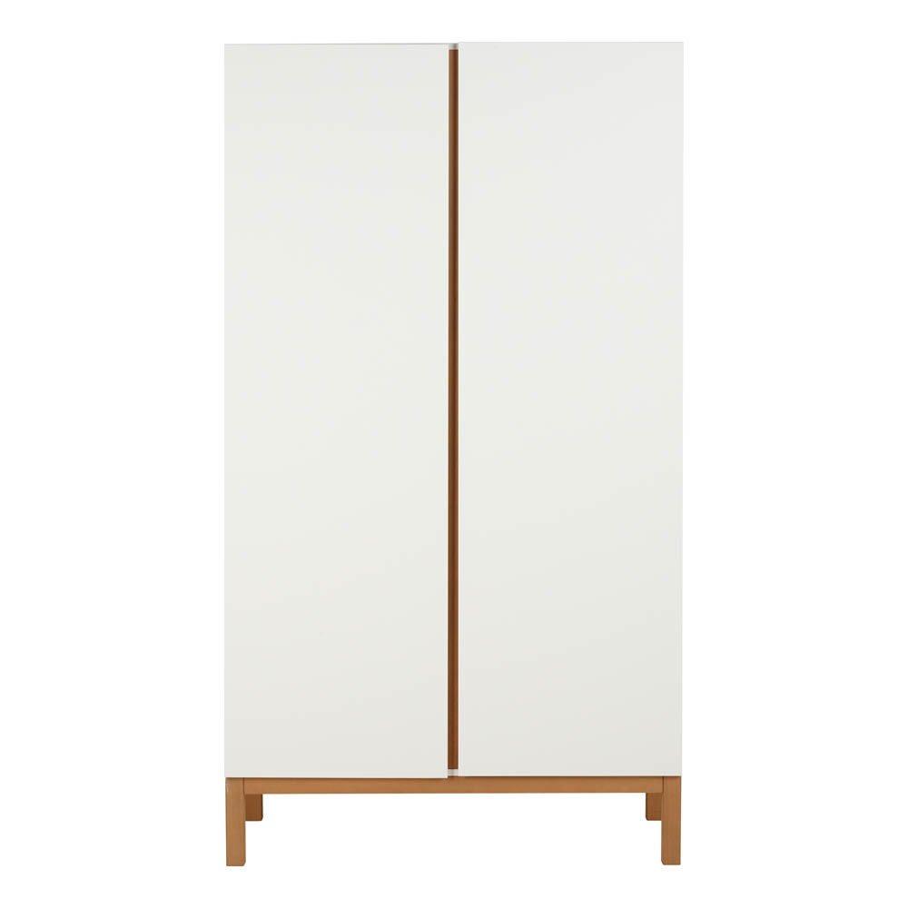 Armoire 2 portes Indigo Blanc Quax Design Bébé