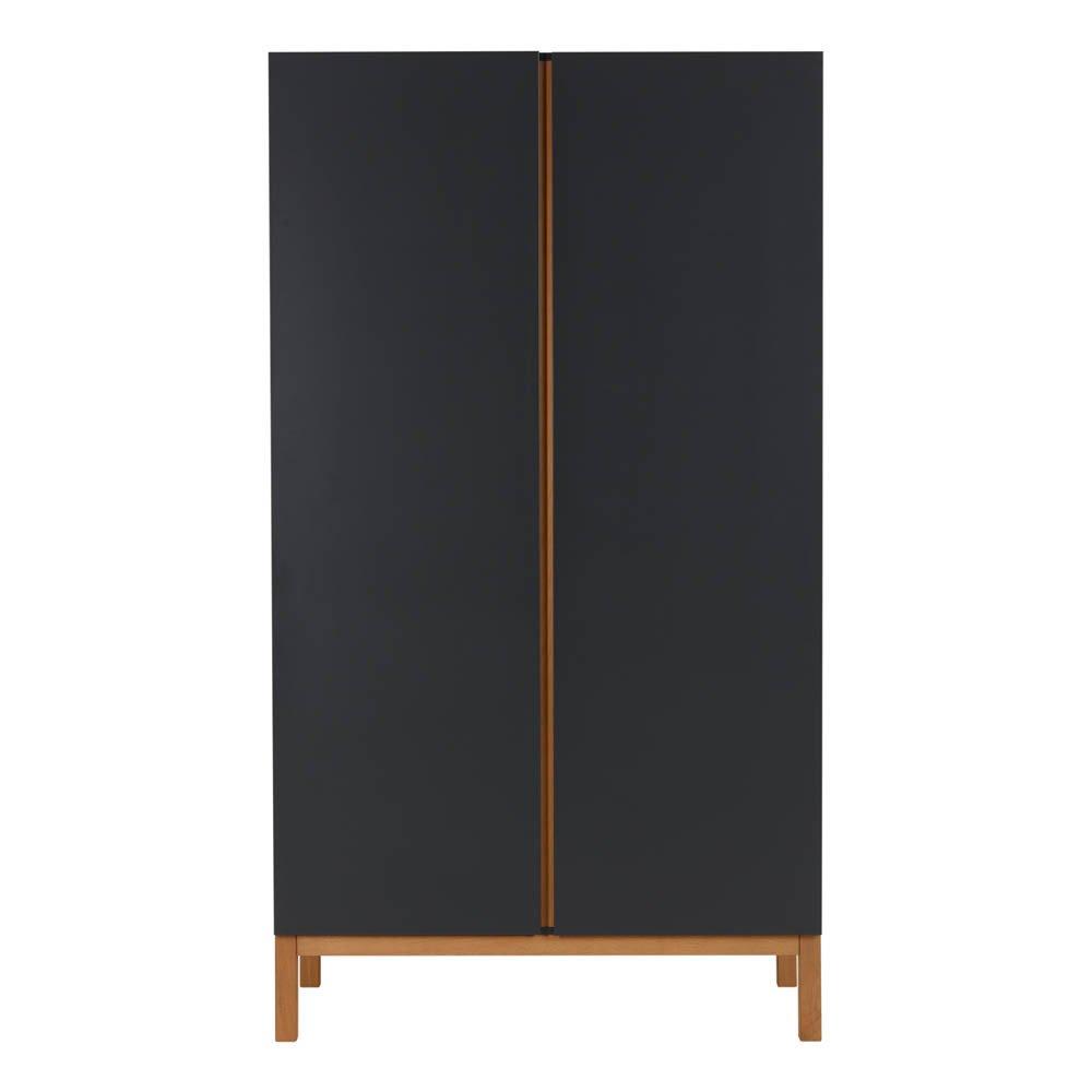 Armoire 2 portes Indigo Noir Quax Design Bébé
