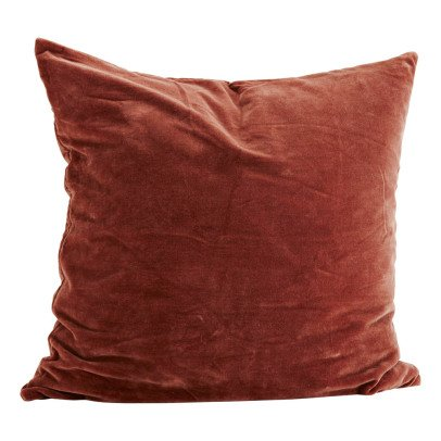 Madam Stoltz Velvet Cushion-listing