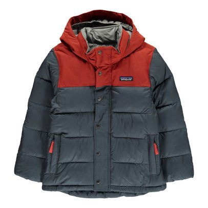 Patagonia Hooded Two-Tone Down Jacket-listing