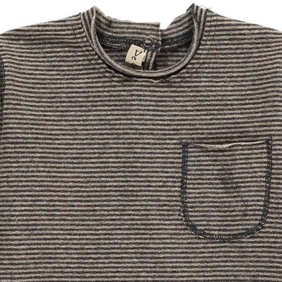 De Cavana Striped T-Shirt With Pocket-listing
