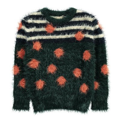 Bellerose Gakena Polka Dot Striped Jumper-product