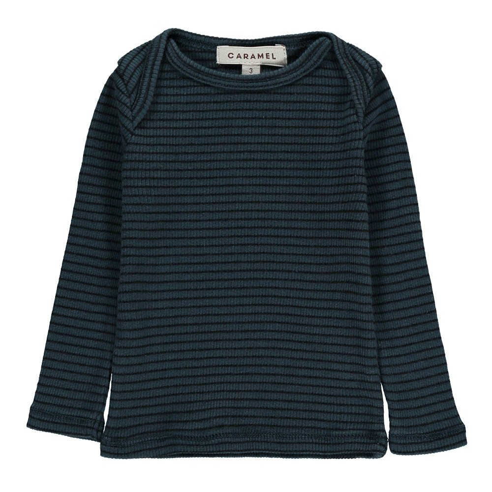 Baby Bamburgh Ribbed Stripe T-Shirt-product