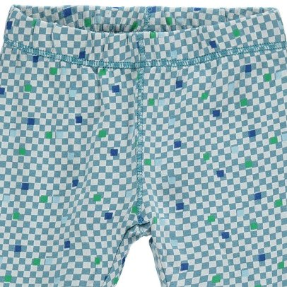 Kidscase Prince Organic Cotton Checked Footed Trousers-listing