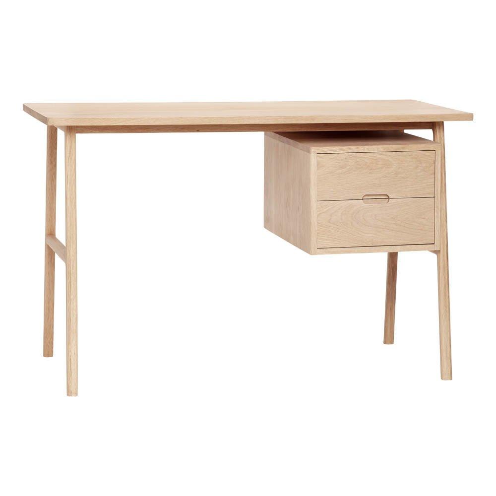 2 Drawer Oak Desk