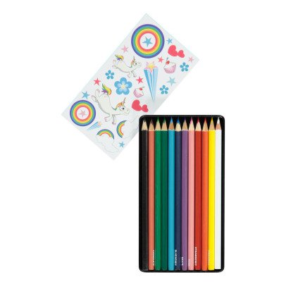 Smallable Toys Unicorn Scented Colouring Pencils - Set of 12-listing