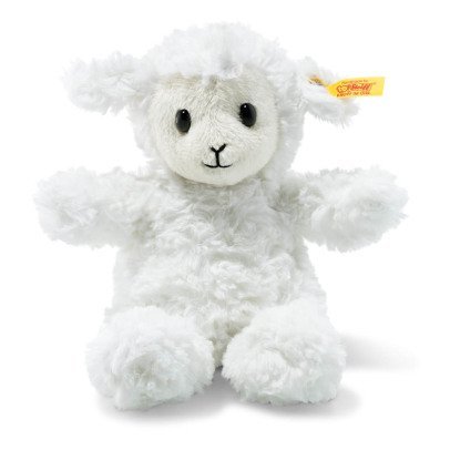 Steiff Fuzzy White Lamb Soft Toy-listing
