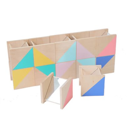 Kiko+ Ditto Wooden Construction Game With Mirrors-listing