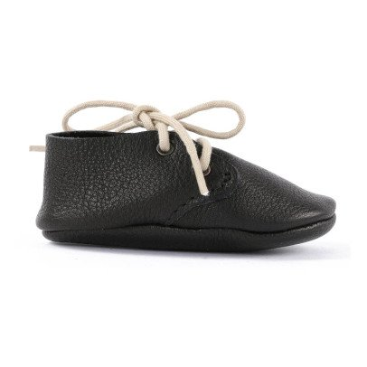 Amy & Ivor Travellers Leather Slippers-listing