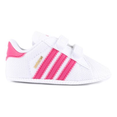 Adidas Crib Superstar Velcro Slippers-listing