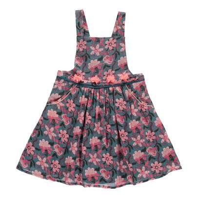 Louise Misha Emilia Floral Dress With Braces-listing