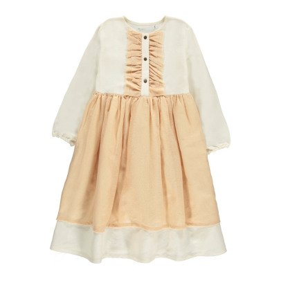 Little Creative Factory Nicole Jabot Collar Dress-listing