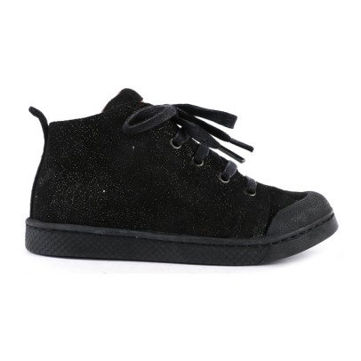 10 IS Mid Lace Camurca Lace-Up Trainers-listing