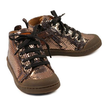 10 IS Mid Lace Disco Lace-Up Trainers-listing