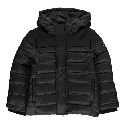 Gertrude + Gaston Little Berthy Neoprene Hooded Down Jacket-listing