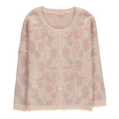 Louise Misha Balang Floral Merino Wool & Mohair Cardigan - Teen & Women's Collection-listing