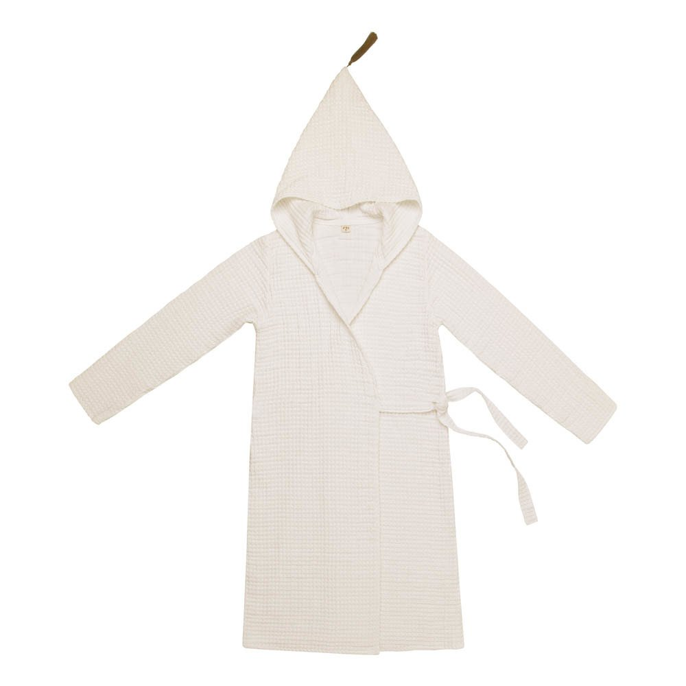 Adult Organic Cotton Dressing Gown Natural S000 Numero 74 Design