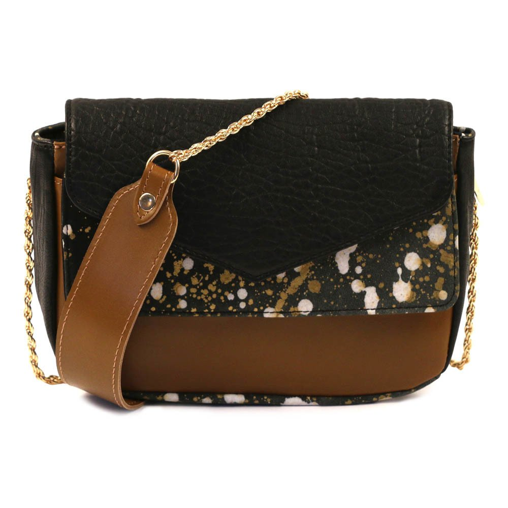 Sale - Small Chain Leather Saddlebag - Craie Craie kHjJW5