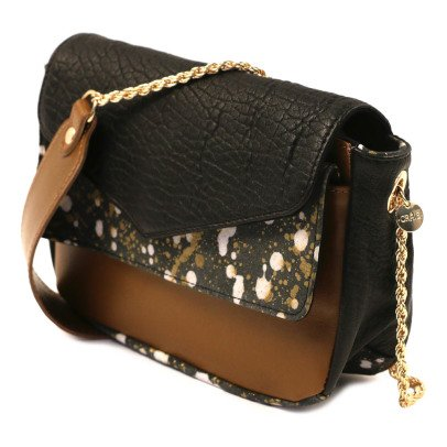Craie Sac Besace Cuir Chainette-listing
