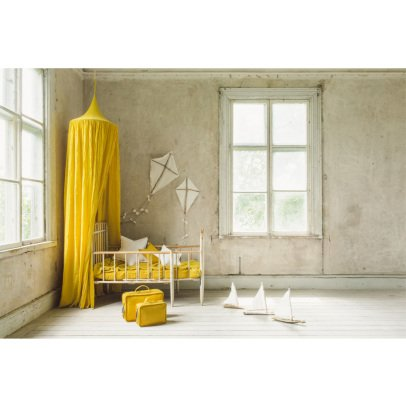 Numero 74 Bed canopy - sunflower yellow-listing