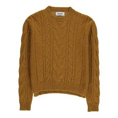 product-ANECDOTE Sharon Woven Alpaca and Wool Jumper