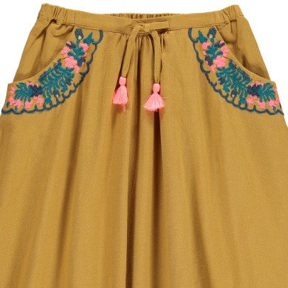 Louise Misha Sands Embroidered Skirt With Pockets-product
