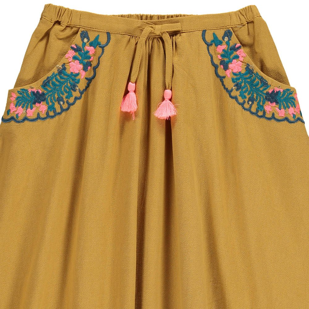 Sands Embroidered Skirt With Pockets-product