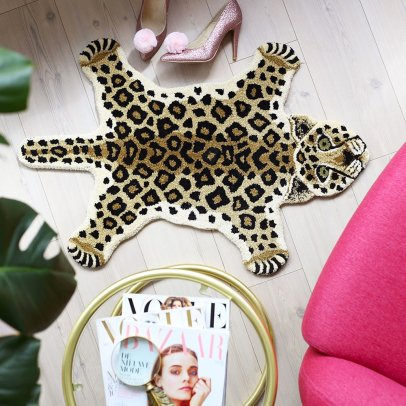 Smallable Home Leopard Rug-listing