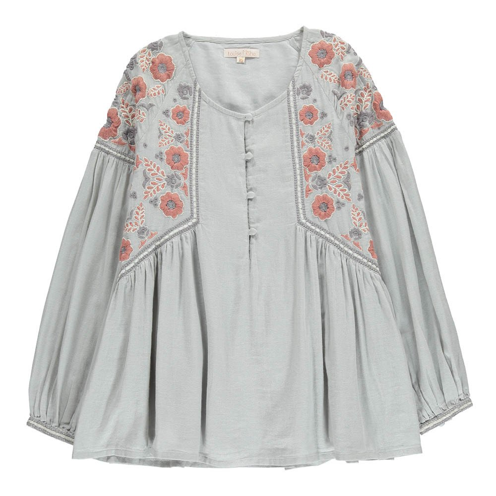Mesifa Embroidered Flower Blouse - Teen & Women's Collection-product
