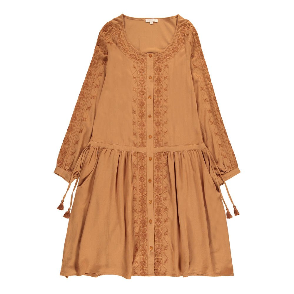 Bangalow Embroidered Button-Up Dress - Teen & Women's Collection-product