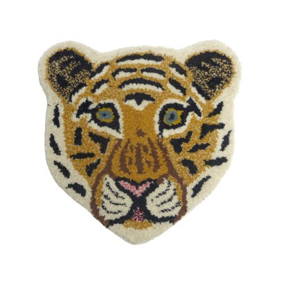 Smallable Home Leopard Head Rug 32x32cm-listing