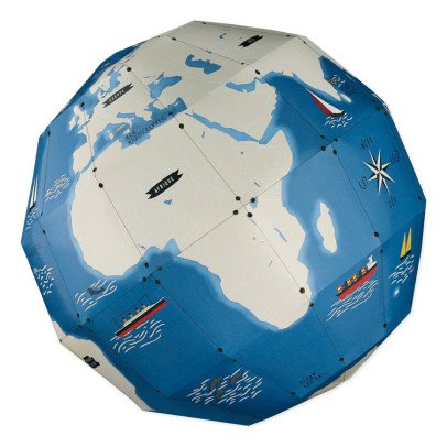 Pirouette Cacahouète Builld Your Own 3D Globe With 45 Stickers-listing