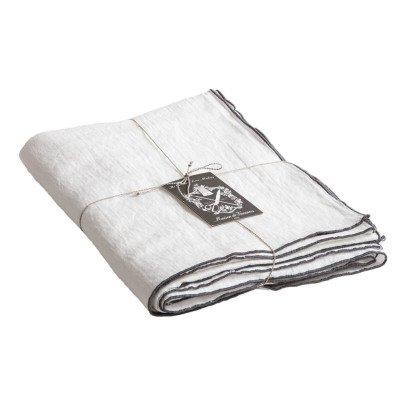Maison de vacances Tovaglia rettangolare Bourdon Ardoise tela mimi vichy  Bianco-listing