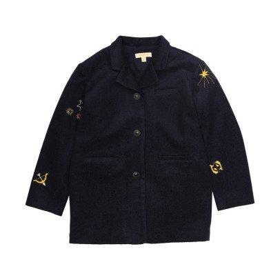 Soft Gallery Galactique Embroidered Coat-listing