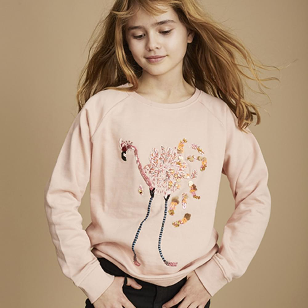 Soft Gallery 10 Years Capsule Flamingo Sweatshirt-product