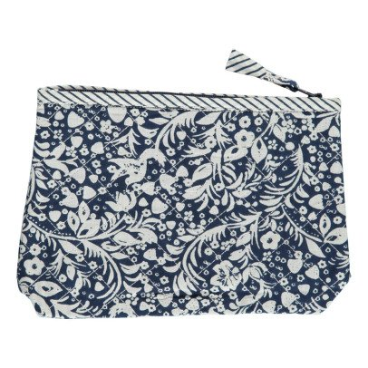 Le Petit Lucas du Tertre Strawberry Blossom Cotton Toiletry Bag-listing