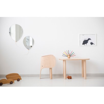 EO - Elements Optimal Beech Wood Elephant Table by Marc Venot-listing