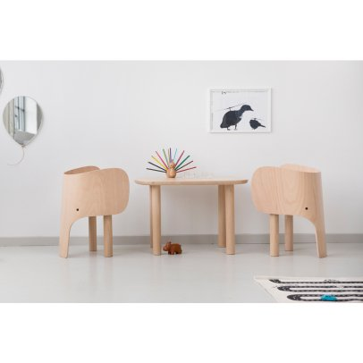 EO - Elements Optimal Beech Wood Elephant Chair by Marc Venot-listing