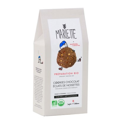 Marlette Chocolate and Hazlenut Organic Cookie Kit-listing