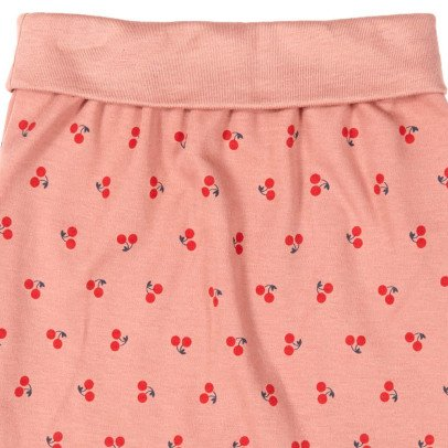 Oeuf NYC Cherries Organic Pima Cotton Harem Trousers-listing