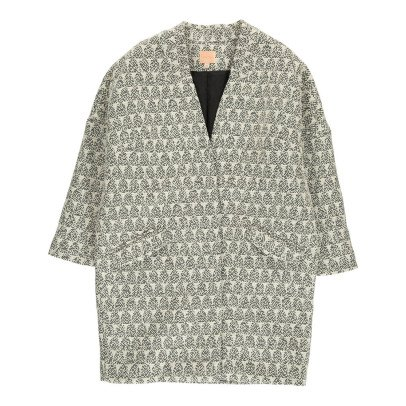 Louise Misha Sekla Jacquard Coat - Teen & Women's Collection-listing