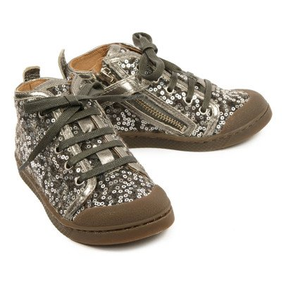 10 IS Bind Ten C Bind Sequin Trainers-listing