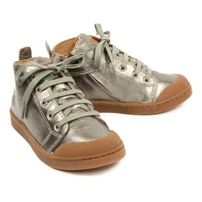 10 IS Mid Lace Metal Lace-Up Trainers-listing