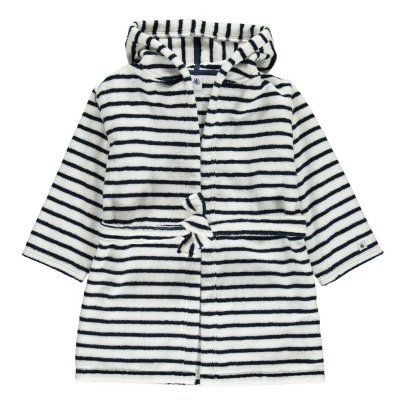 Petit Bateau Babel Striped Dressing Gown-listing