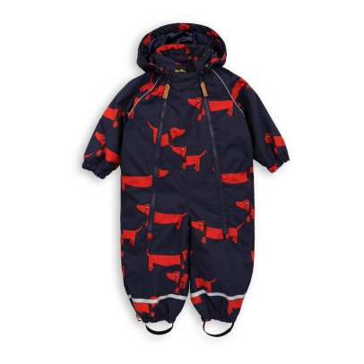 Mini Rodini Dog Double Zip Snowsuit-listing