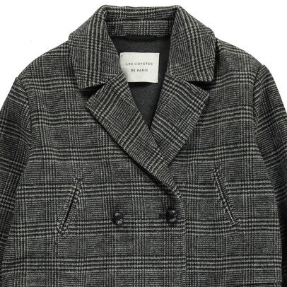 Les Coyotes de Paris Lilay Prince of Wales Coat-listing