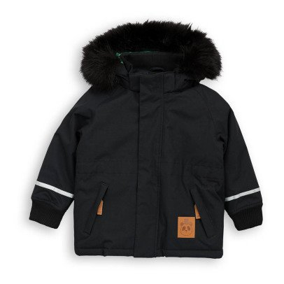 Mini Rodini Fox Faux Fur Parka-listing
