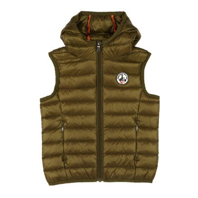 Jott Djam Light Hooded Sleeveless Down Jacket-listing