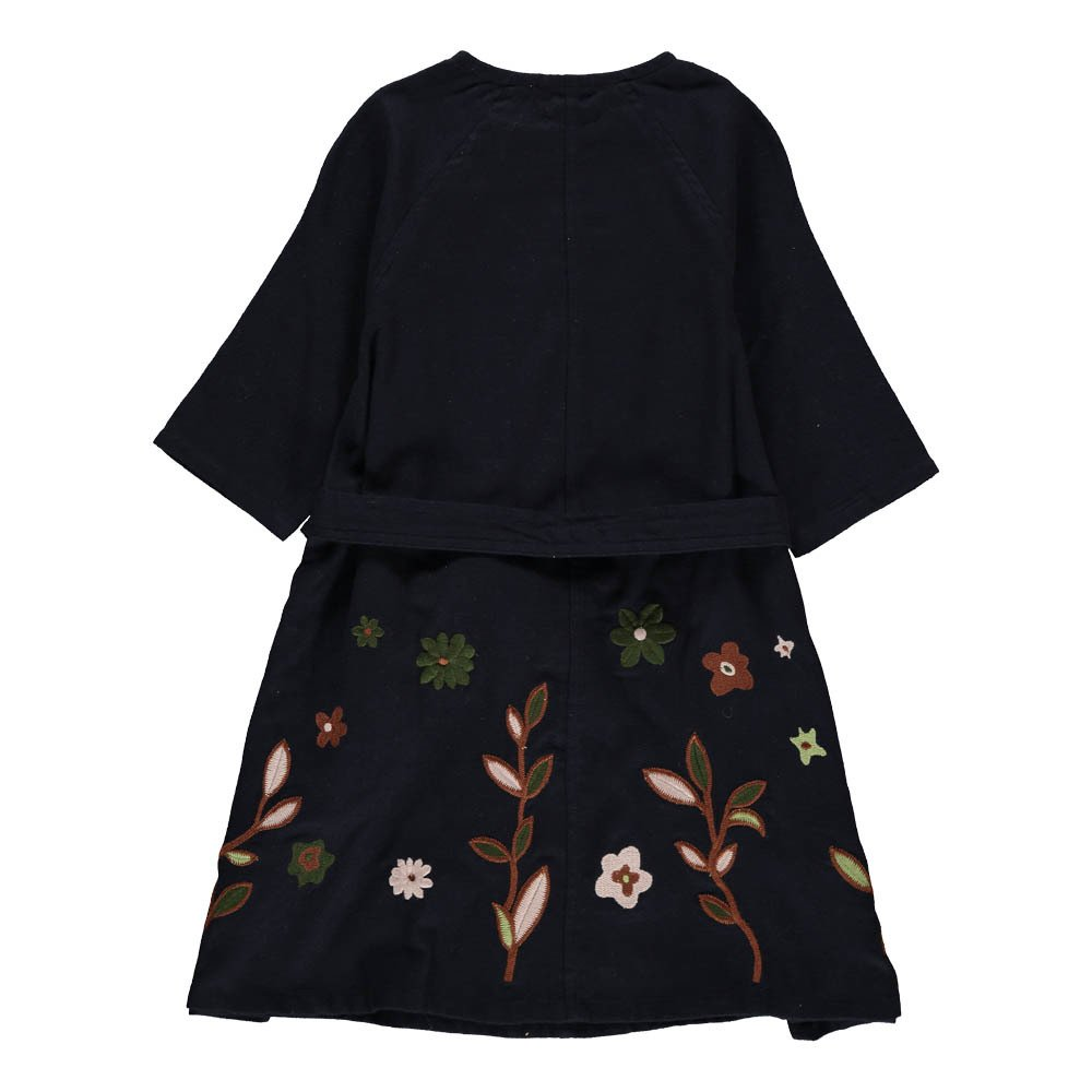 Belsay Embroidered Flower Dress-product