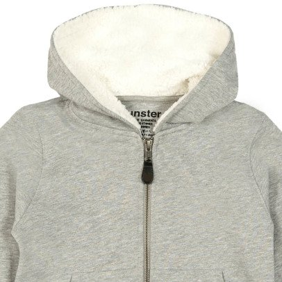Munsterkids Ear Muffs Zip-Up Hoodie-listing